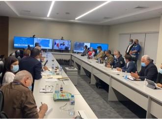 Presidente Cortizo encabeza reunión del CON que atiende las necesidades en áreas afectadas por inundaciones y deslizamientos