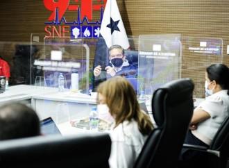 Presidente Cortizo Cohen supervisa acciones del Gobierno frente al huracán IOTA