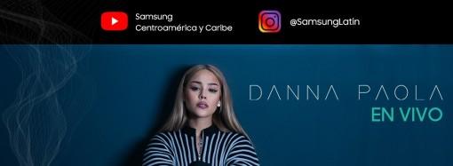 Danna Paola dará concierto online para sus fans en el canal de Samsung