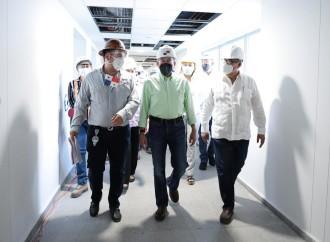 Presidente Cortizo Cohen recorre Ciudad de la Salud