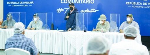Presidente Cortizo Cohen destaca la unidad para enfrentar desastres naturales