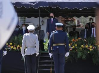 Presidente Cortizo preside ceremonia de cambio de mando en la Policía Nacional y el Senan