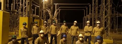 En tiempo récord y con altos estándares de seguridad sereemplazan transformadores en la Subestación de Mata de Nance