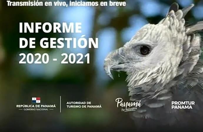 PROMTUR Panamá rinde informe de gestión 2020 y presenta el Plan Operativo 2021