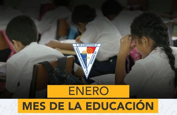 APEDE: Educación de calidad, prioridad número uno de Panamá