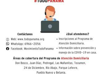 Movimiento #TODOPANAMÁ lanza Asistente Virtual para consultas relacionadas con el Covid-19