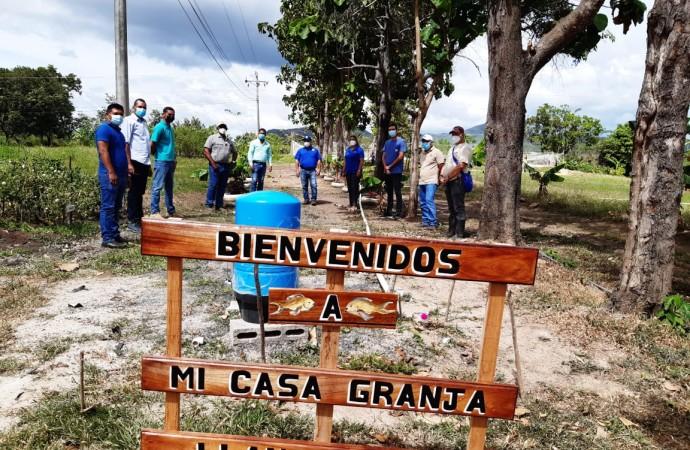 Proyecto de acuicultura de Llano Marín se convierte en punto de referencia nacional