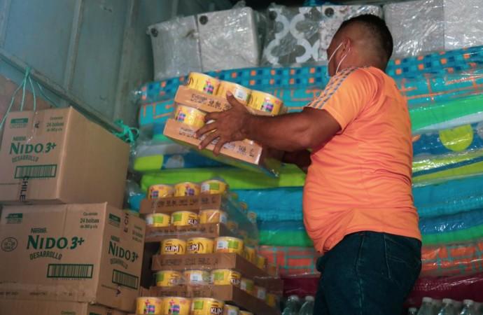 MIDES envía ayuda humanitaria a los damnificados de la Costa Arriba de Colón