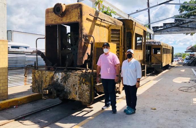 Avanzan trabajos de restauración del ferrocarril de Bugaba