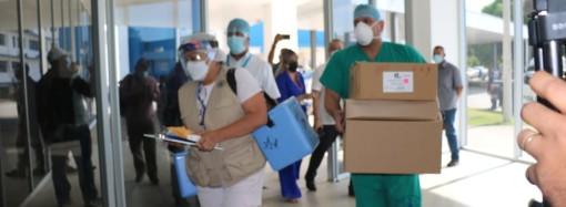 Chiriquí y comarca Ngäbe reciben vacuna contra la Covid-19