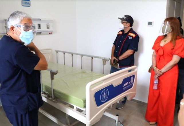 Defensoría del Pueblo inspecciona nuevo hospital Covid en la Ciudad Hospitalaria