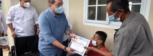 142 personas con discapacidad son beneficiadas con vivienda a través del Plan Colmena