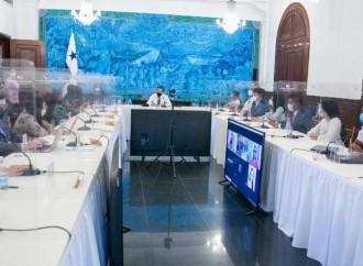 Jóvenes y presidente Cortizo Cohen conversan sobre el Diálogo Nacional