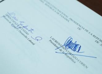 Presidente Cortizo Sanciona Ley No. 201