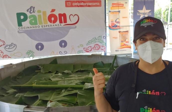 Se hizo Pailón de arroz con pollo más grande de Panamá en pandemia