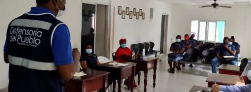 Defensoría del Pueblo realiza capacitación a Jueces de Paz en Colón
