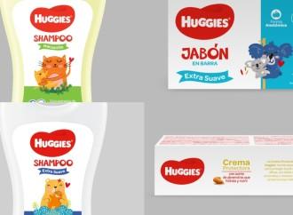 Huggies amplía su portafolio con productos de cuidado personal para bebés
