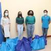 Estudiantes de IFMA donan bolsas de comidas para funcionarios con discapacidad