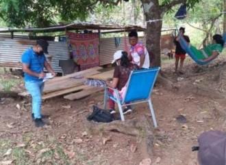 Evalúan a 11 familias por desprendimiento de techo en comarca Ngäbe Buglé
