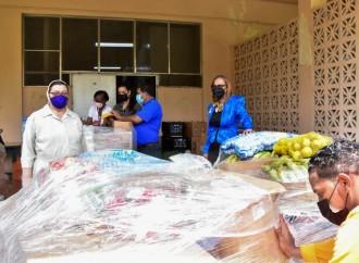 Hogar Bolívar recibe cuatro toneladas de alimentos