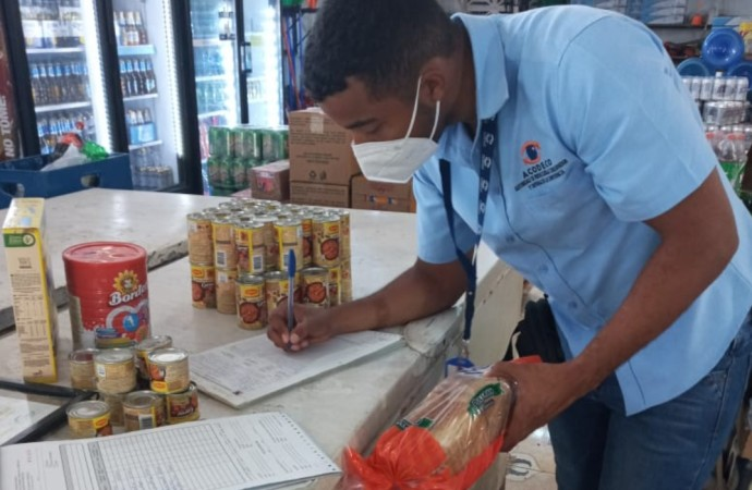 Acodeco sigue detectando productos vencidos y otras irregularidades