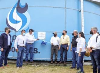 Gobierno entrega nuevo sistema de abastecimiento de agua potable para Antón