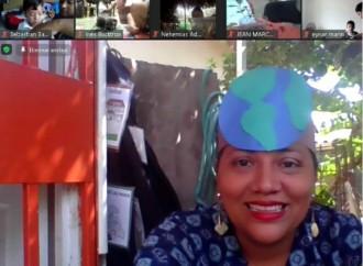 Alumnos del IPHE aprenden sobre el Día de la Tierra