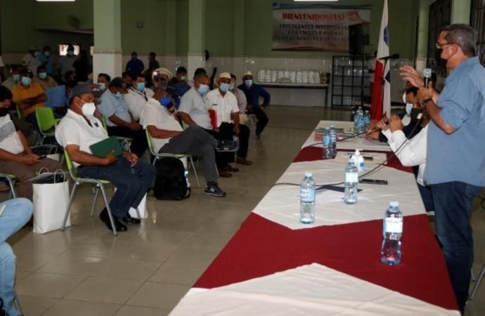 Conforman gran alianza de trabajo para llevar viviendas y mejoras en Veraguas