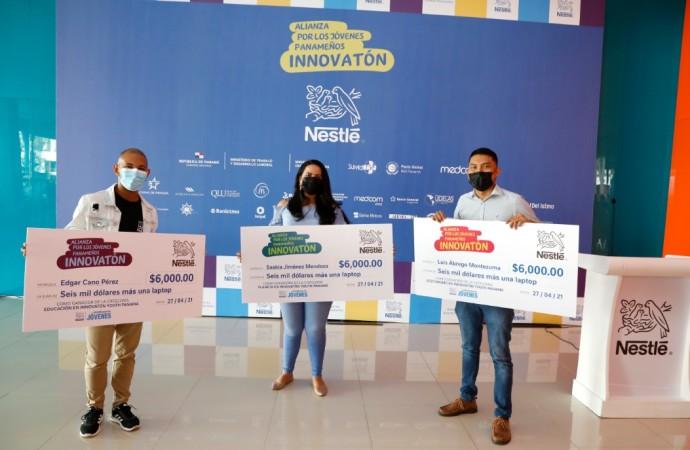Ganadores del primer Innovatón en Panamá reciben B/.6 mil de capital semilla para sus proyectos