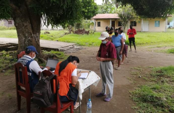 Defensoría participa en jornada de carnetización de refugiadas en Darién