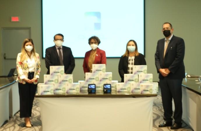 Jers Medical Panamá dona al MINSA equipos y pruebas Covid-19