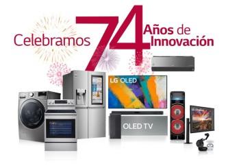 LG Electronics celebra 74 años ofreciendo lo último en tecnología e innovación