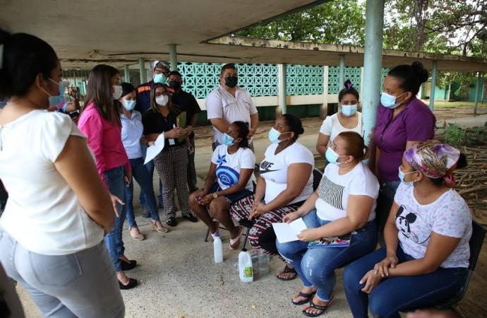 Ministra de Gobierno inspecciona Centro Femenino de Rehabilitación en recorrido por las instalaciones