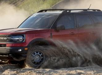 La totalmente nueva Bronco Sport gana el premio Top Safety Pick + del IIHS