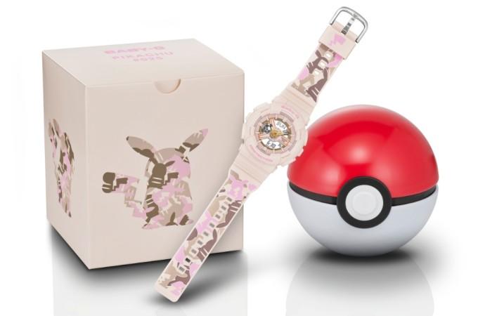 Casio lanza el modelo BABY-G en colaboración con Pokémon