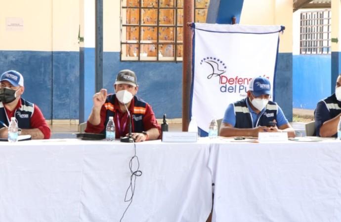 Continúa mesa de diálogo para el cumplimiento del Acuerdo TRI de 2009 con la medicación de la Defensoría