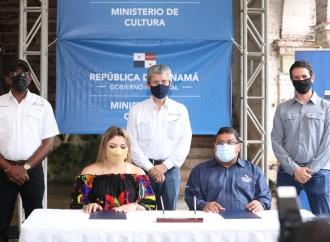 Se firman las primeras contrataciones para la reactivación económica en Portobelo