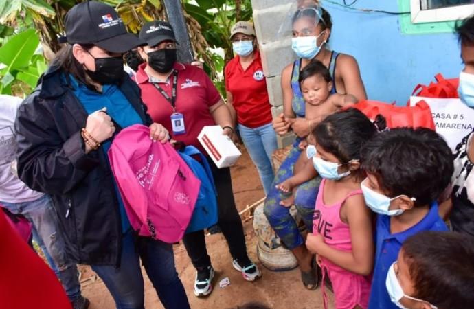 Ayuda humanitaria llega a residentes de Chilibre