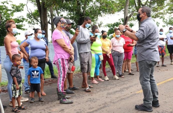 Inicia reubicación de familias censadas que vivían en cercanías del Hospital Nicolás Solano