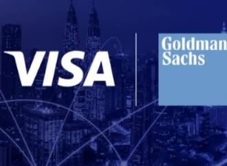 Visa y Goldman Sachs se asocian para modernizar el movimiento global de dinero