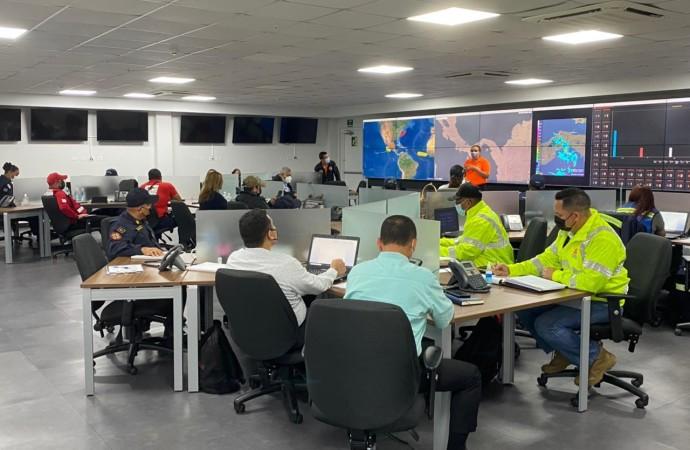 SINAPROC atiende más de 27 situaciones de emergencias tras lluvias del domingo