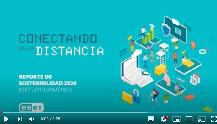 """""""Conectar en la distancia"""", ESET Latinoamérica presenta su último Reporte de Sostenibilidad"""