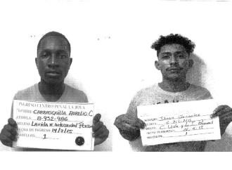 Autoridadesreportan la recaptura de un privado de libertad y dos fugados del centro de Transición de Las Garzas