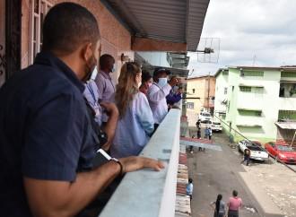"""Realizan recorrido de campo al proyecto """"Recuperando Mi Barrio"""" en Llano Bonito en Curundú"""