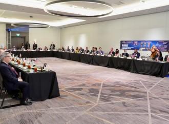 Presidente Cortizo se reúne con empresarios de Texas para atraer inversiones a Panamá