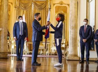 Presidente Cortizo Cohen entrega pabellón nacional a la delegación que representará a Panamá en olimpiadas de Tokio