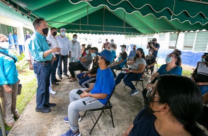 Presidente Cortizo Cohen anuncia vacunación por barrido en más circuitos del país