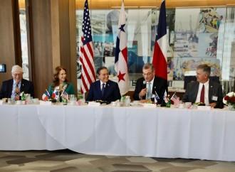 Presidente Cortizo Cohen promueve expandir inversiones de Houston en Panamá