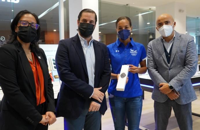Samsung Electronics apoya a la delegación de atletas panameños que participarán en las Olimpiadas Tokio 2020