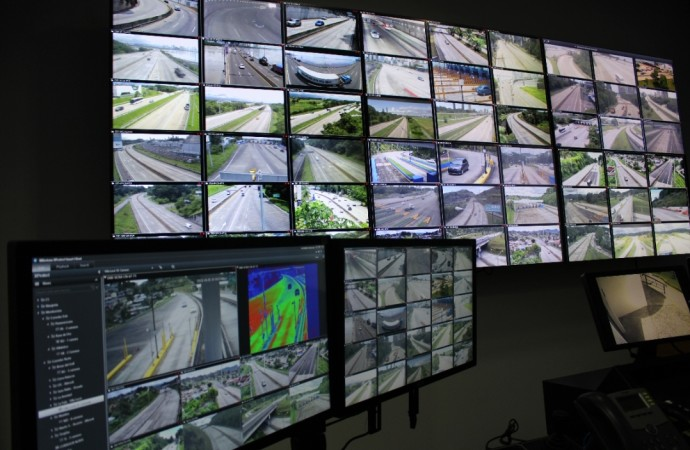 Corredores Norte, Sur y Este protegidos con moderno sistema de videovigilancia
